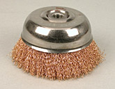 Bronze Wheel Brush