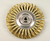 Brass Wheel Brush