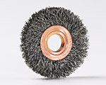 Copper Center Small Diameter Wheel Brushes