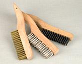 wire scratch brush shoe handle